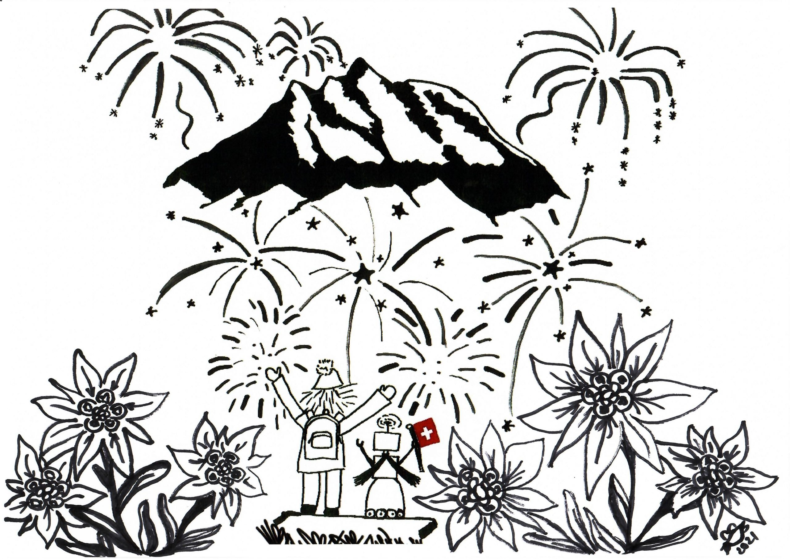 It's the Swiss National Holiday today. Have fun everyone while staying safe!